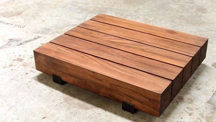 coffee table mindi wood