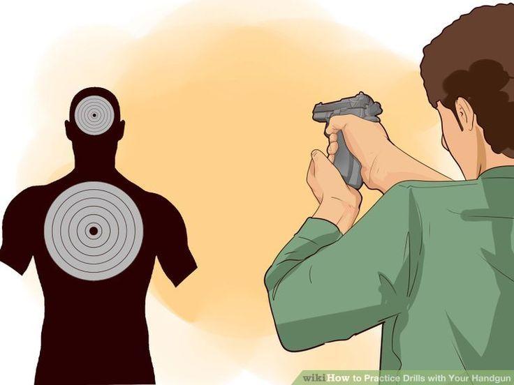 5 Ways to Practice Drills with Your Handgun - wikiHow
