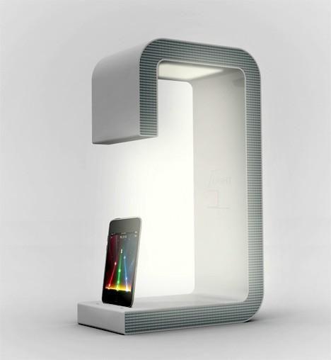 IPod Dock + Speaker + Bed Light By Sang Hoon Lee Yanko Design