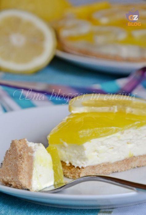 Cheesecake al limone, dolce facile senza forno e senza gelatina