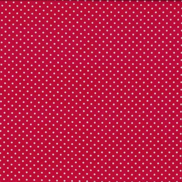 Strawberry Patches Glamour Dot Hot Pink Fabric