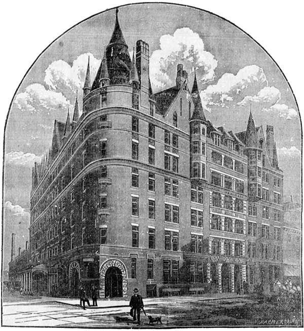 The Manitoba Hotel, ca. 1892 Manitoba HotelPhoto: The Manitoba Historical Society Construction of the Manitoba Hotel began in the early 1890s, and the building officially opened on New Year's Day, 1892. Built at a cost of $300,000, some of the building's features included extravagant turrets, a red brick facade and a viewing deck with views of downtown. Alas, on a freezing cold morning in February 1899 (some reports say the temperature reached a low of -53° C!) the hotel burned down just…