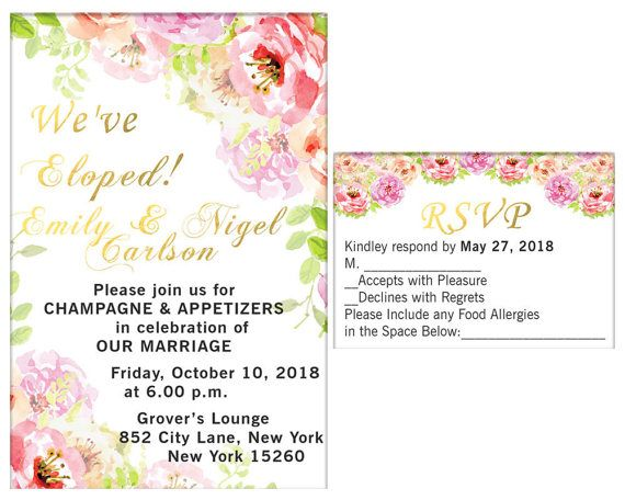 Hey, I found this really awesome Etsy listing at https://www.etsy.com/listing/519493107/elopement-party-invitation-and-rsvp