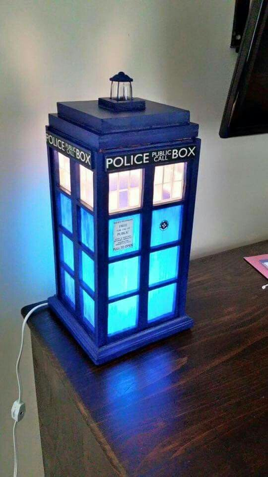 doctor who tardis alarm clock instructions