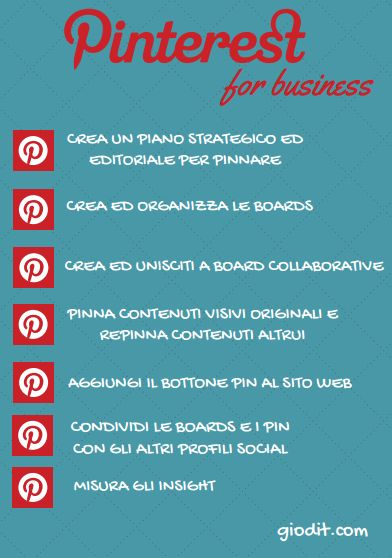 Pinterest for business by GioDiT