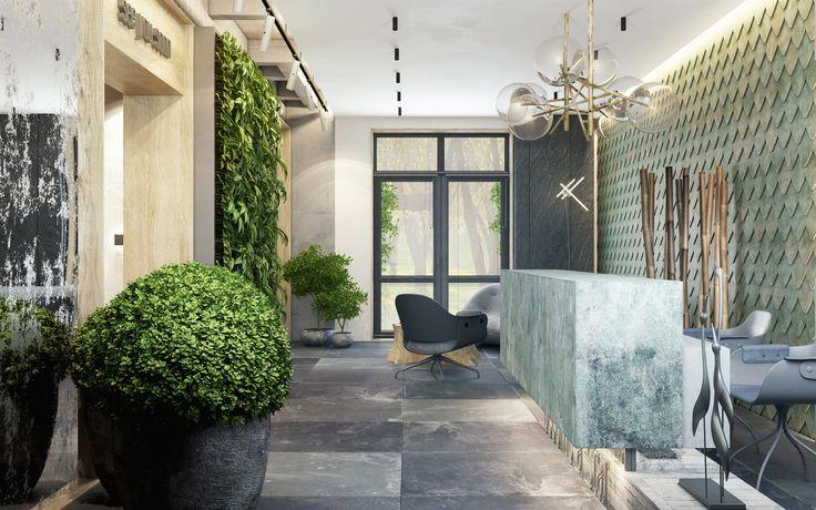 Дизайн офиса в современном стиле #дизайн_офиса #стильный_офис #office_design