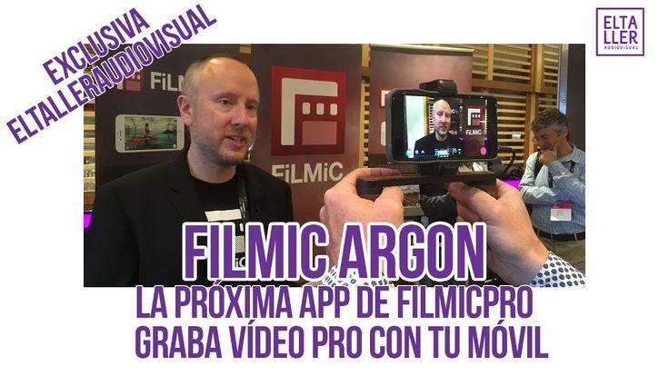 Filmic Argon, la próxima app de Filmic Pro [ACTIVA SUBTITULOS]