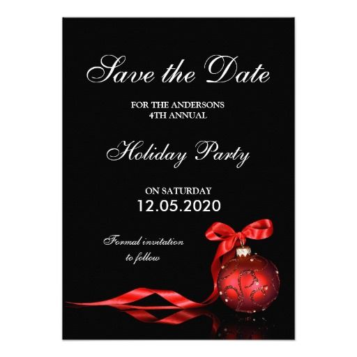 christmas holiday party save the date templates christmas and