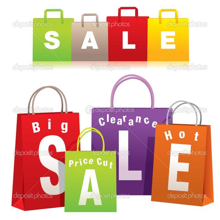 Сумки для покупок — Стоковая иллюстрация #4417359
