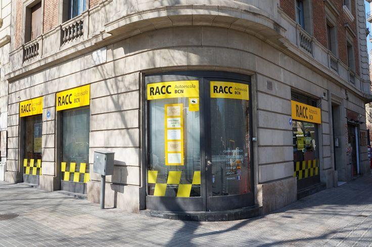 Implantación nueva imagen corporativa en las autoescuelas del RACC