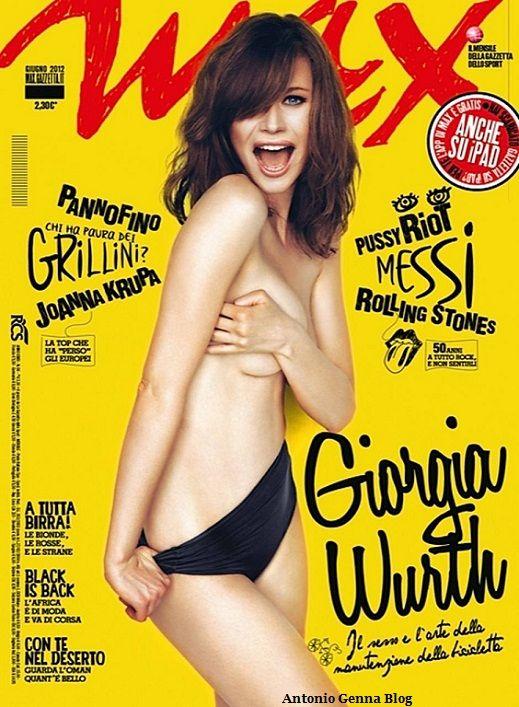 Max, giugno 2012: Giorgia Wurth