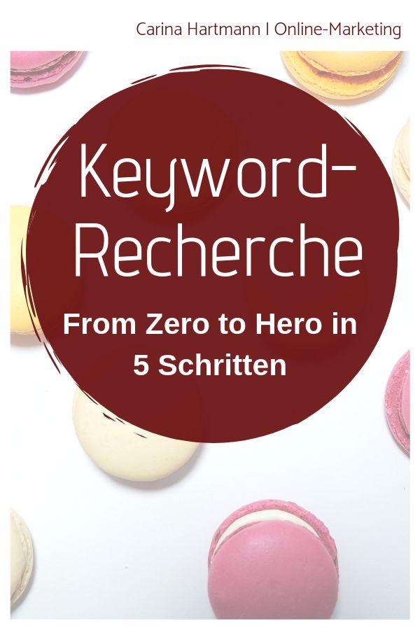 Keyword-Recherche: In 5 Schritten vom Nullpunkt zum Helden