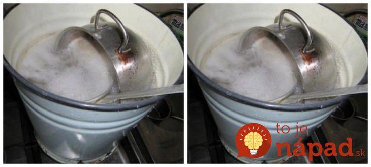 Dokonalá zmes, s ktorou vyčistíte aj tie najviac pripálené hrnce za 10 minút: Aj starý riad bude žiariť čistotou!