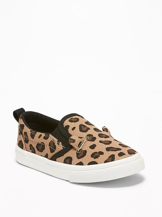 Old Navy Toddlers' Leopard-Print Canvas
