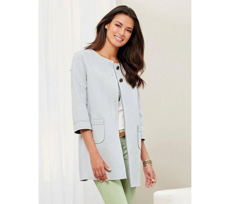 Kabát se 3/4 rukávy | modino.cz #ModinoCZ #modino_cz #modino_style #style #fashion #bestseller #coat