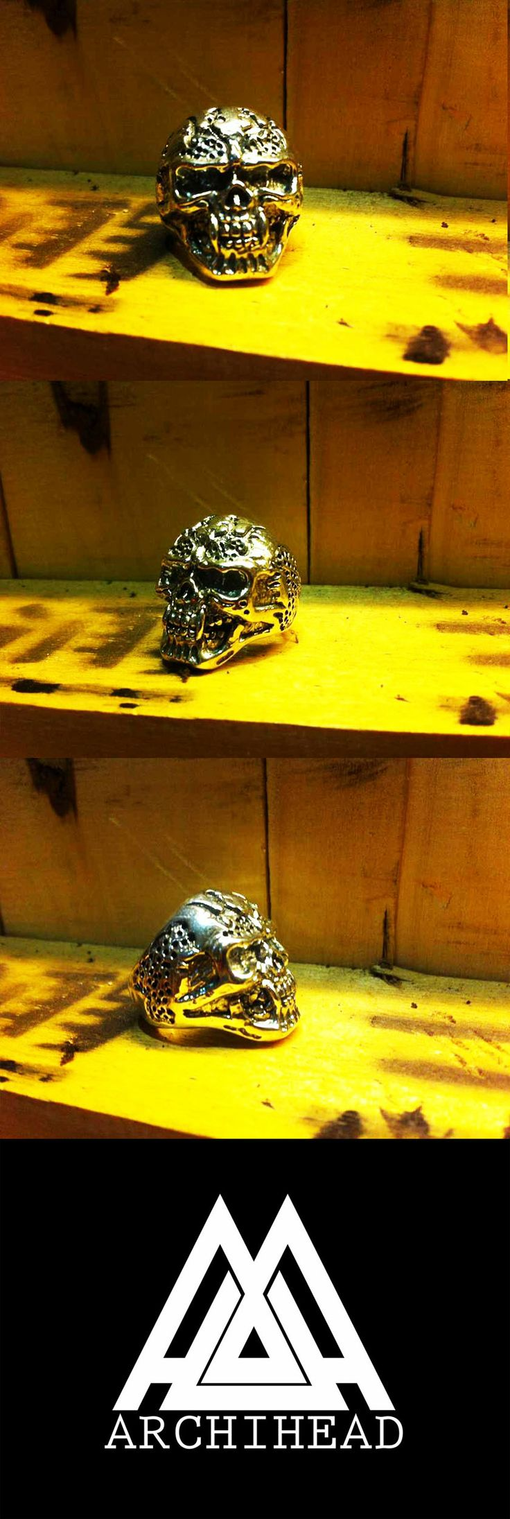 ARCHIHEAD Rings (skull head ) Archiheadproject@gmail.com