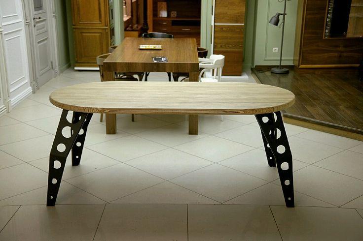 Купить Большой стол industrial - лофт, лофт стиль, лофт мебель, лофт интерьер