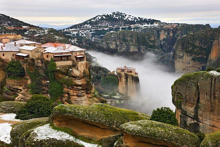 GREECE CHANNEL | The Roussanou Monastery, Greece