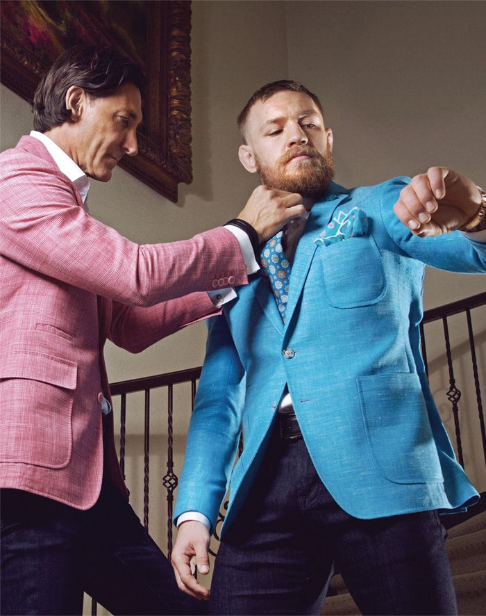 Just days before UFC champion Conor McGregor faces off against rival and professional smack talker Nate Diaz, Haute Time landed an exclusive interview with the Irish native to find out what makes him tick.