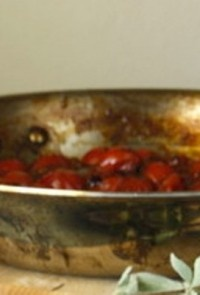 Σάλτσα με ντοματίνια για ψητά σχάρας