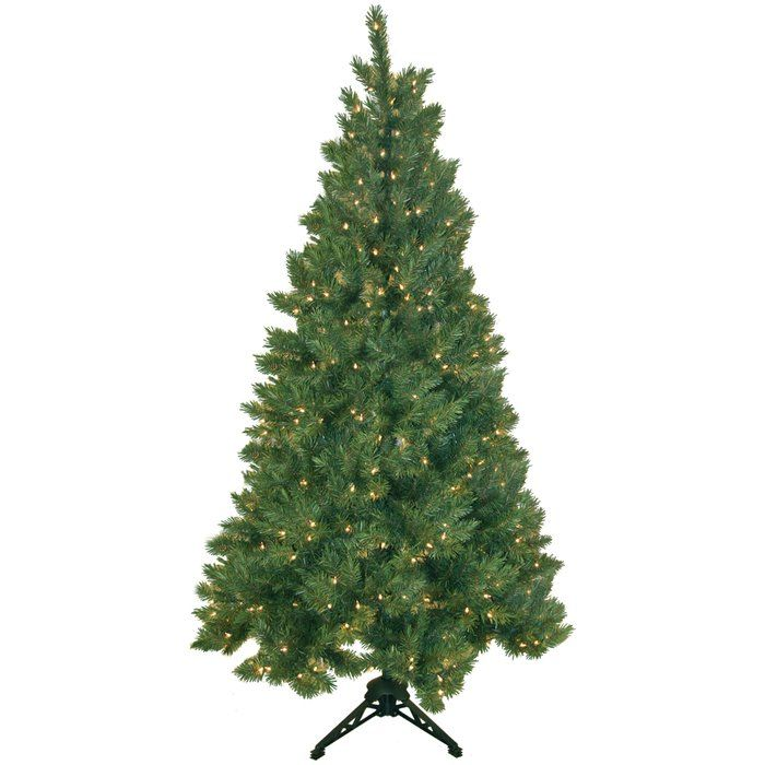 You'll love the Northern Spruce 6.5' Artificial Half Christmas Tree with 500 Clear Lights at AllModern - With Great Deals on modern Décor + Pillows products and Free Shipping on most stuff, even the big stuff.