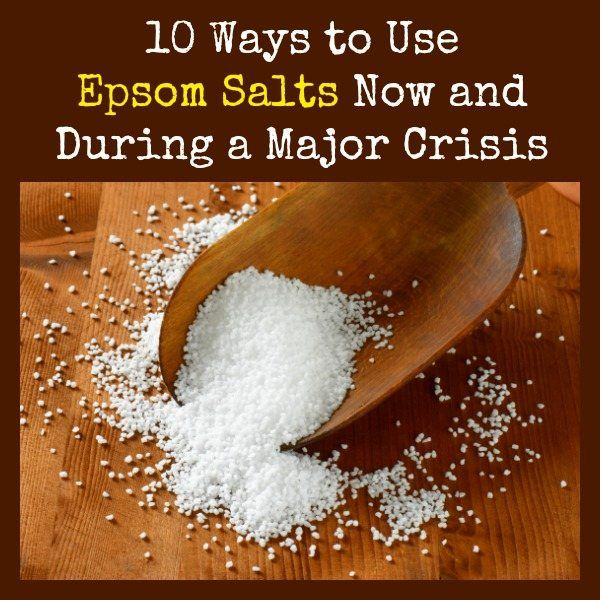 The superstars of preparedness are those items that serve multiple purposes.  In many cases, these are common, everyday items that we already have on hand.  One you may not have considered is Epsom salts. Learn 10 reasons to stockpile this multi-tasker for both now and for use when the SHTF.    10 Ways to Use Epsom Salts | Backdoor Survival
