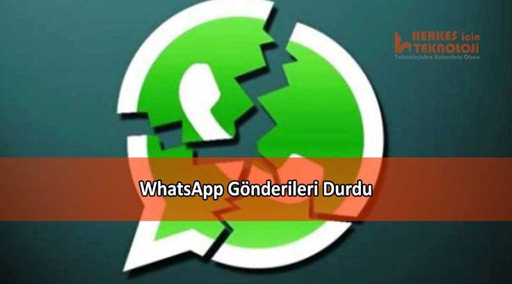 Dünyanın en popüler anlık mesajlaşma uygulaması Whatsapp dünya genelinde sorun yaşıyor.