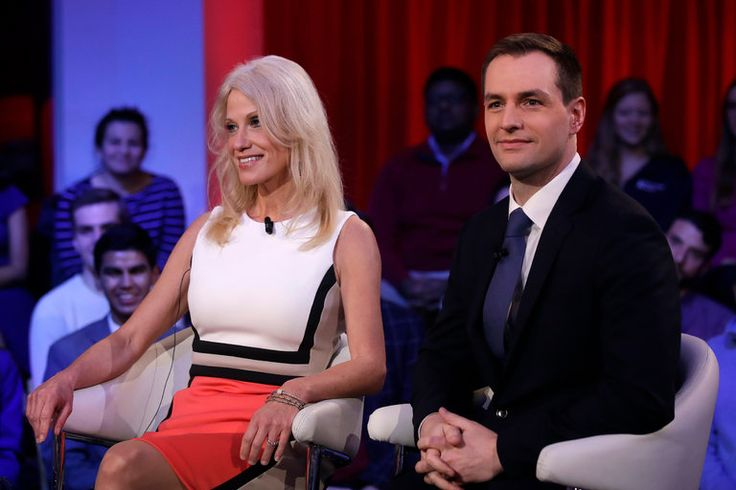 """""""I would rather lose than win the way you guys did,"""" Hillary Clinton's director of communications told Donald J. Trump's campaign manager during a raucous debate at Harvard."""