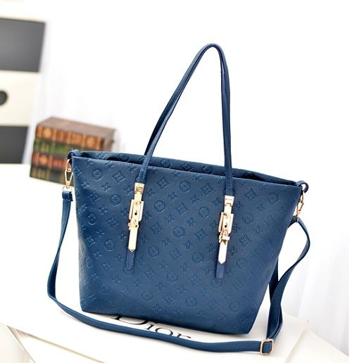 Tas import C002 Blue Material: PU leather Size:30x33 IDR:165.000