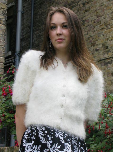 angora sweater | Woman's Fuzzy Sweaters | Pinterest | She ...