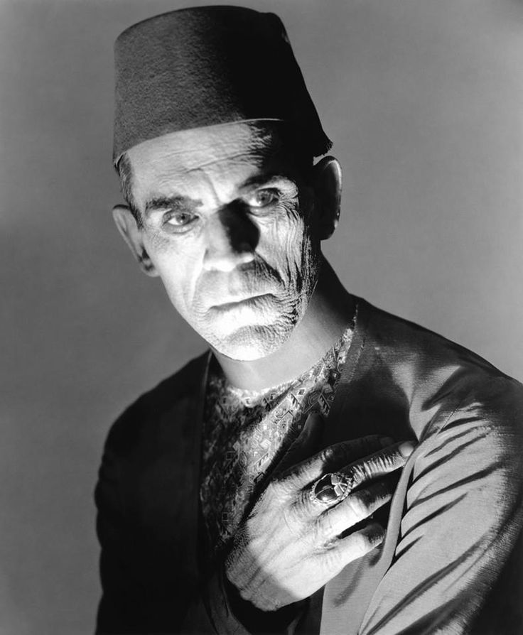 """Boris Karloff As """"Imhotep"""" In Universal Pictures """"The Mummy"""" 1932."""
