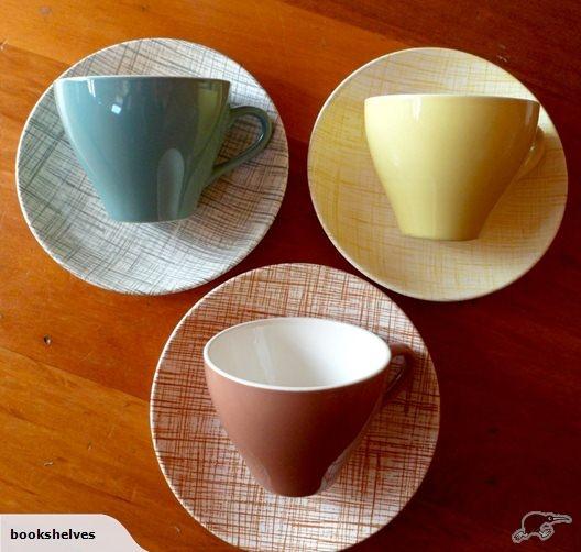 colour glaze / Rattan duos  wonderful colours!