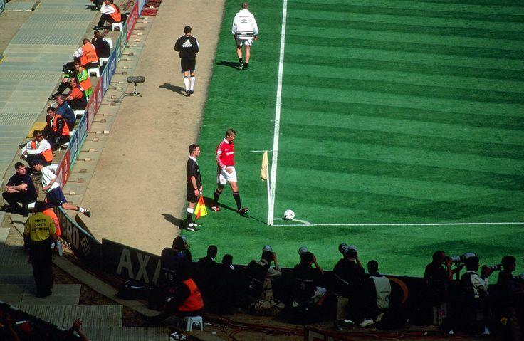 1999 FA Cup Final Beckham corner - David Beckham - Wikipedia