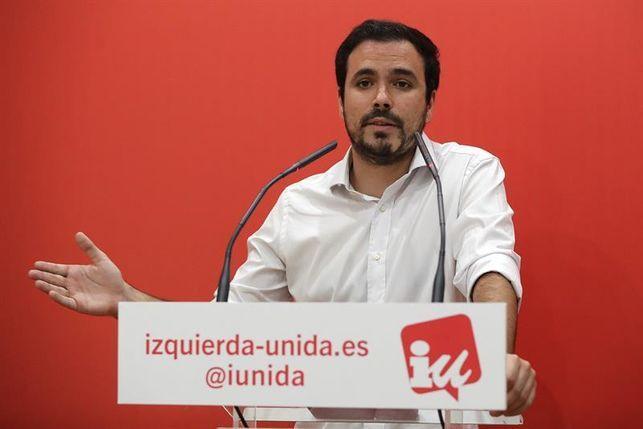 "Alberto Garzón lanza un proceso abierto para redactar una ""Constitución Federal"""