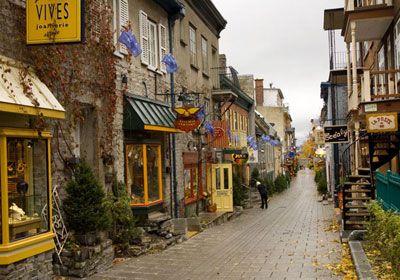 Vieux Quebec, Quebec City, Quebec