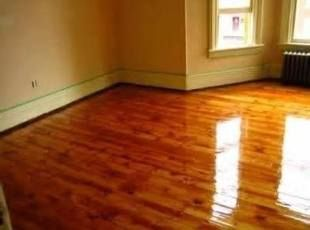 Hardwood Floor Cleaner and Polish Recipe 1 Gallon HOT water, 3/4 cup olive oil, and 1/2 cup lemon juice