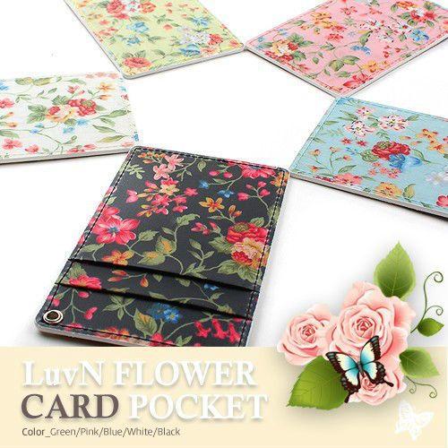 Flower Lanyard ID Card Pocket Holder/ Lanyard ID Card Pass Pocket Holder
