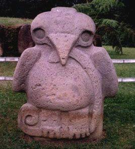 San Agustin, Parque Arqueologico, Colombia Según mi hermana esto es un pollito