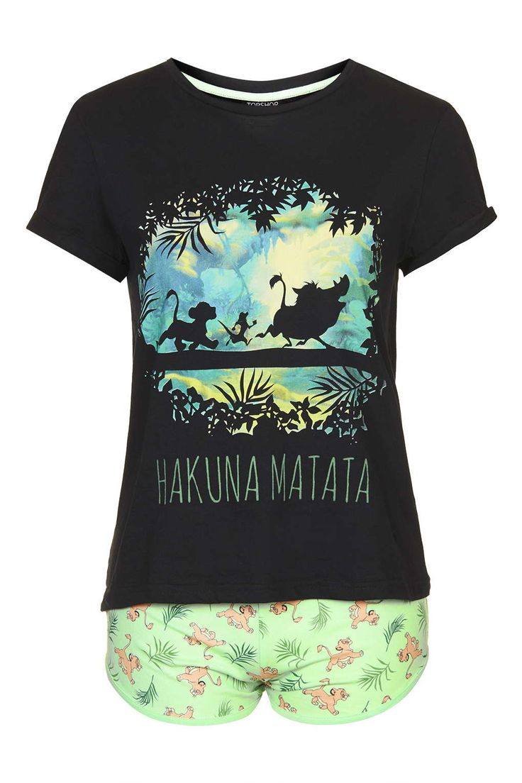 Lion King Pyjama Set - Nightwear - Clothing