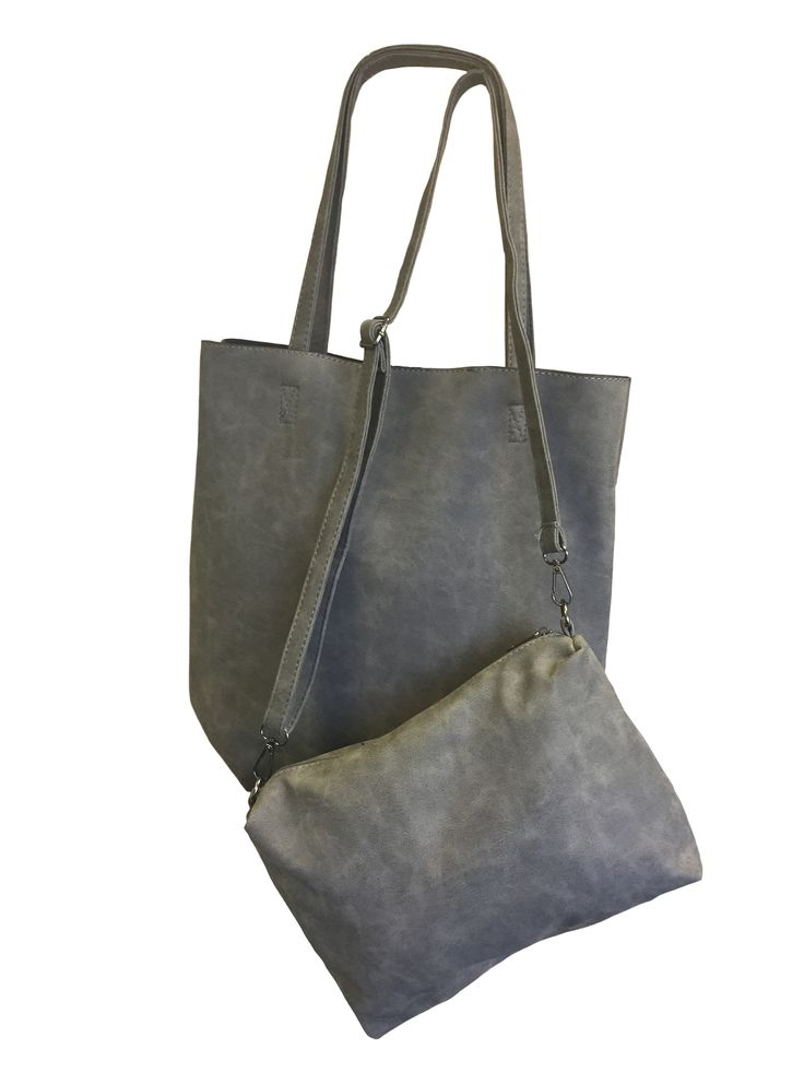 Hem&Edge bag - distressed large tote #grey #glamorousgreys #bag #accessories #onebutton #hemandedge Click to buy from the One Button shop.