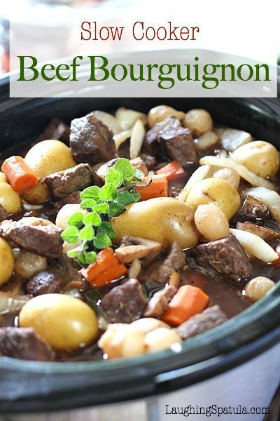 All the flavor of Julia Childs famous beef stew with a lot less work!