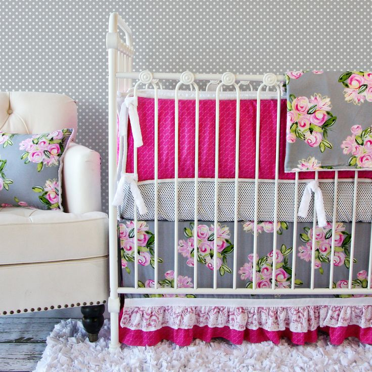 Great Caden Lane Vintage Floral Crib Bedding, Caden Lane Limited Edition Baby  Bedding, Caden Lane