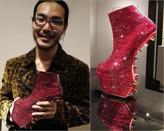 Высокие туфли без каблуков