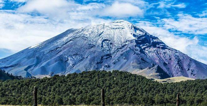 Parque Nacional Izta-Popo en el Estado de México.