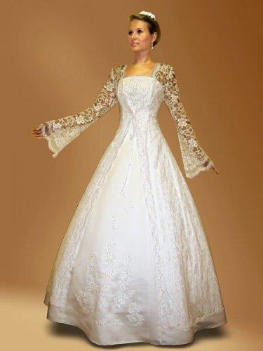Свадебное платье няни вики