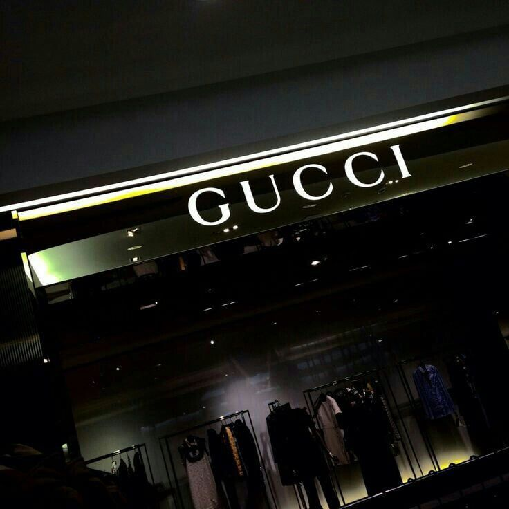 gucci, aesthetic, and black