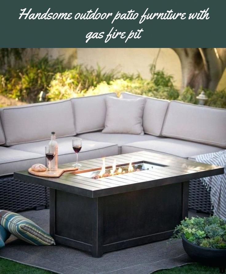 Find More Information On Outdoor Patio Furniture With Gas Fire Pit