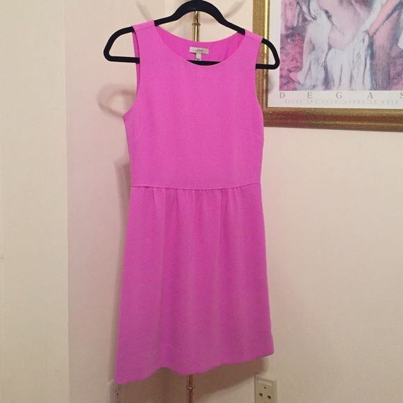 J Crew bright lavender dress J Crew bright lavender dress. Perfect for work or holidays. J. Crew Dresses Mini