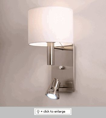 Arenal White Chelsea 1 Wall Sconce  Item# ArenalWhiteChelsea1  Regular price: $300.00  Sale price: $255.00
