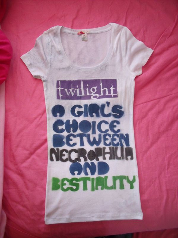 Twilight Summary Shirt
